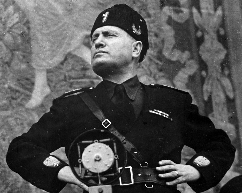Benito Mussolini. Getty Images