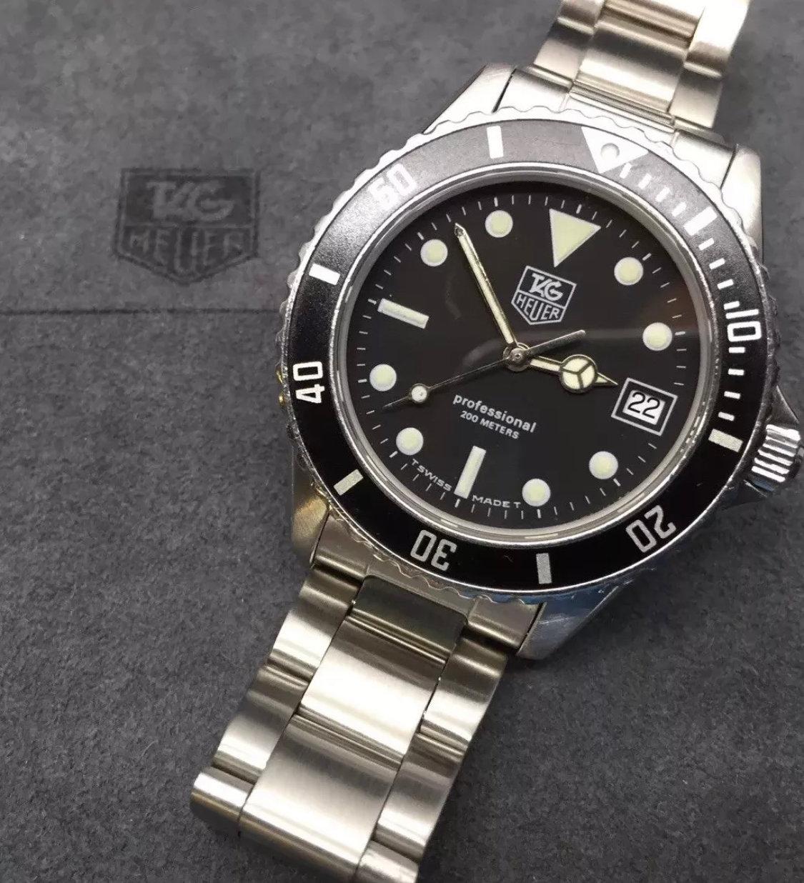 best website 100c1 25fb2 Oyster bracelet For Tag Heuer 1000 Pro Models 42mm Version, Submariner Type  | website