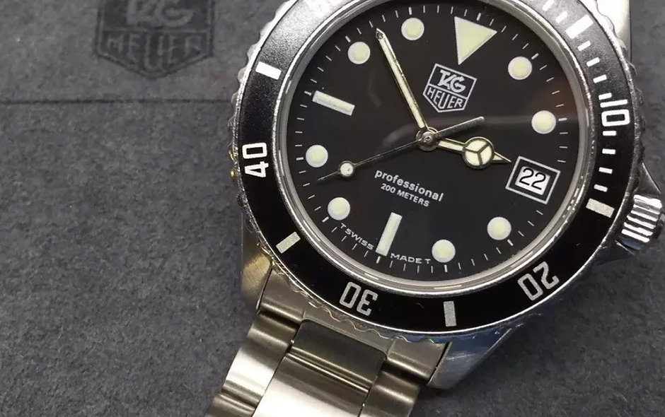 Oyster bracelet For Tag Heuer 1000 Pro Models 38mm Version, Submariner Type