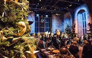 Think Of A Magic Christmas In Hogwarts