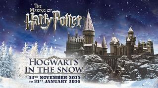 Meet Harry Potter in Snowy Hogwarts