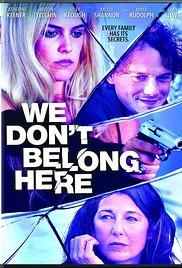 We Don't Belong Here