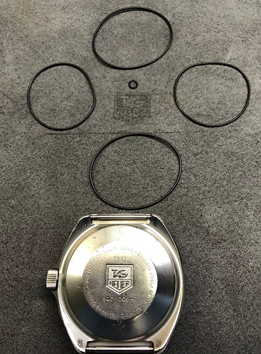 Full Gasket Package For Tag Heuer 1000m 840.006-2 Super Professional Dive Watch