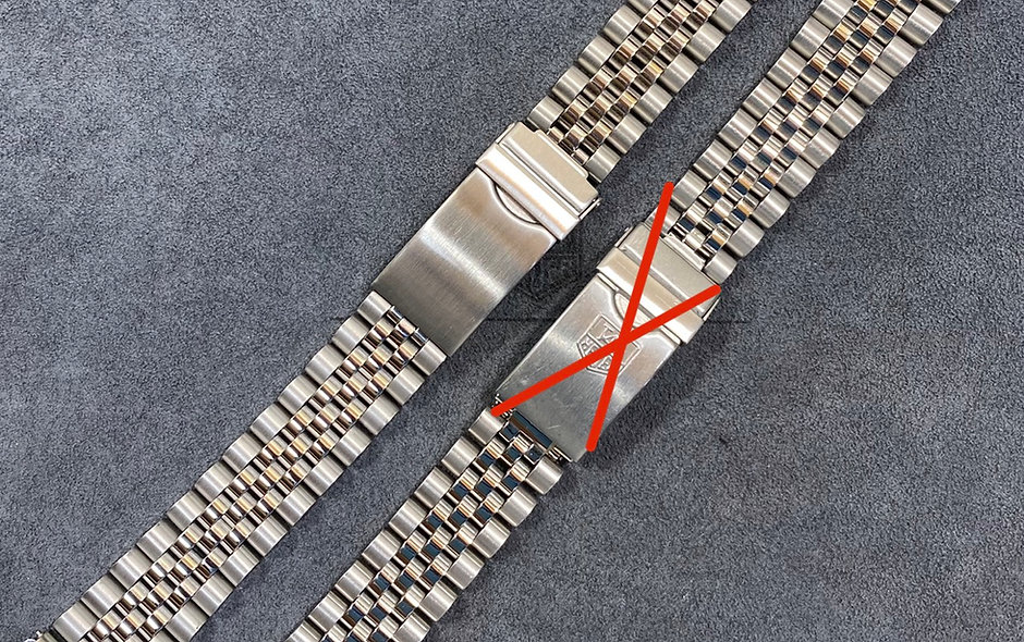 Jubilee bracelet For Tag Heuer 38mm 1000 Models 980.013 980.613 980.113 980.913