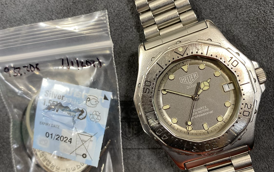 👍 Serviced Vintage TAG HEUER 3000 Series 932.206 Submariner Style Watch