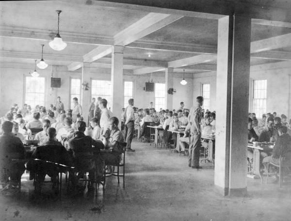 Cafeteria at the Arthur G. Dozier School