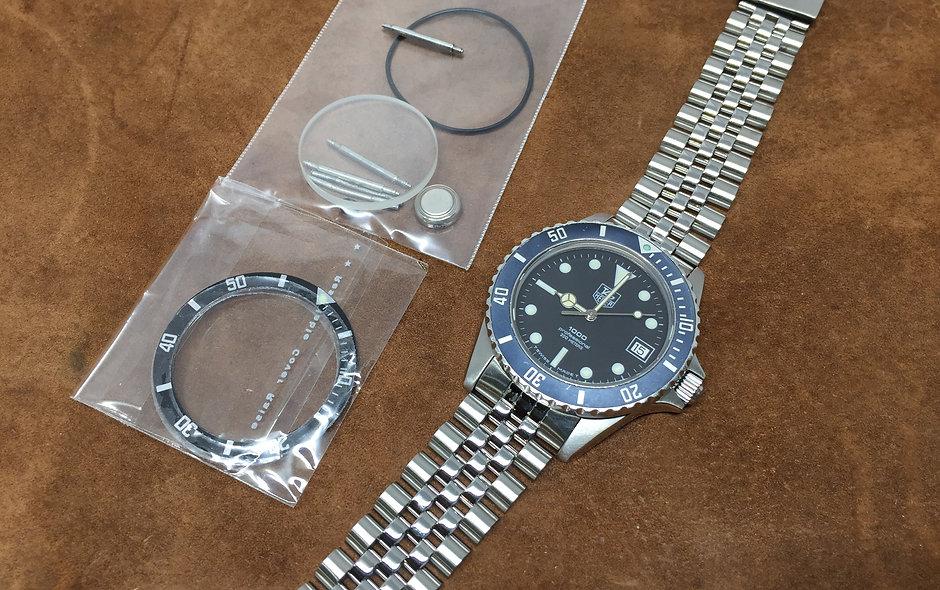 A+ TAG Heuer 980.013 1000 Black watch