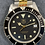 Thumbnail: 👍 Serviced TAG HEUER 1000 980.020 Two Tone Gold Submariner Style Dive Watch