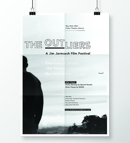 The Outliers Film Festival poster