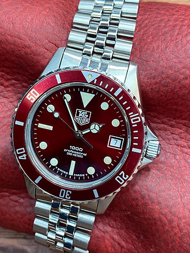 A+ Tag Heuer 1000 red 980.913n Professional Submariner