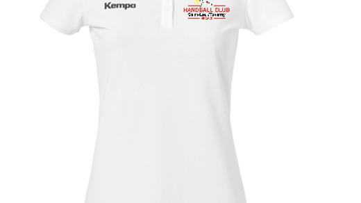 Polo femme blanc « POLY » Kempa