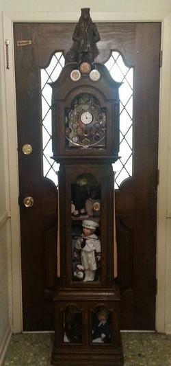 Grandfather Clock Shadow Box