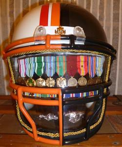 Football helmet Shadow Box