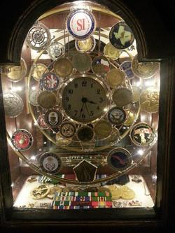 Grandfather Clock Shadow Box (top)