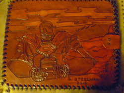 Back of KISS/Iron Giant Tablet Cover