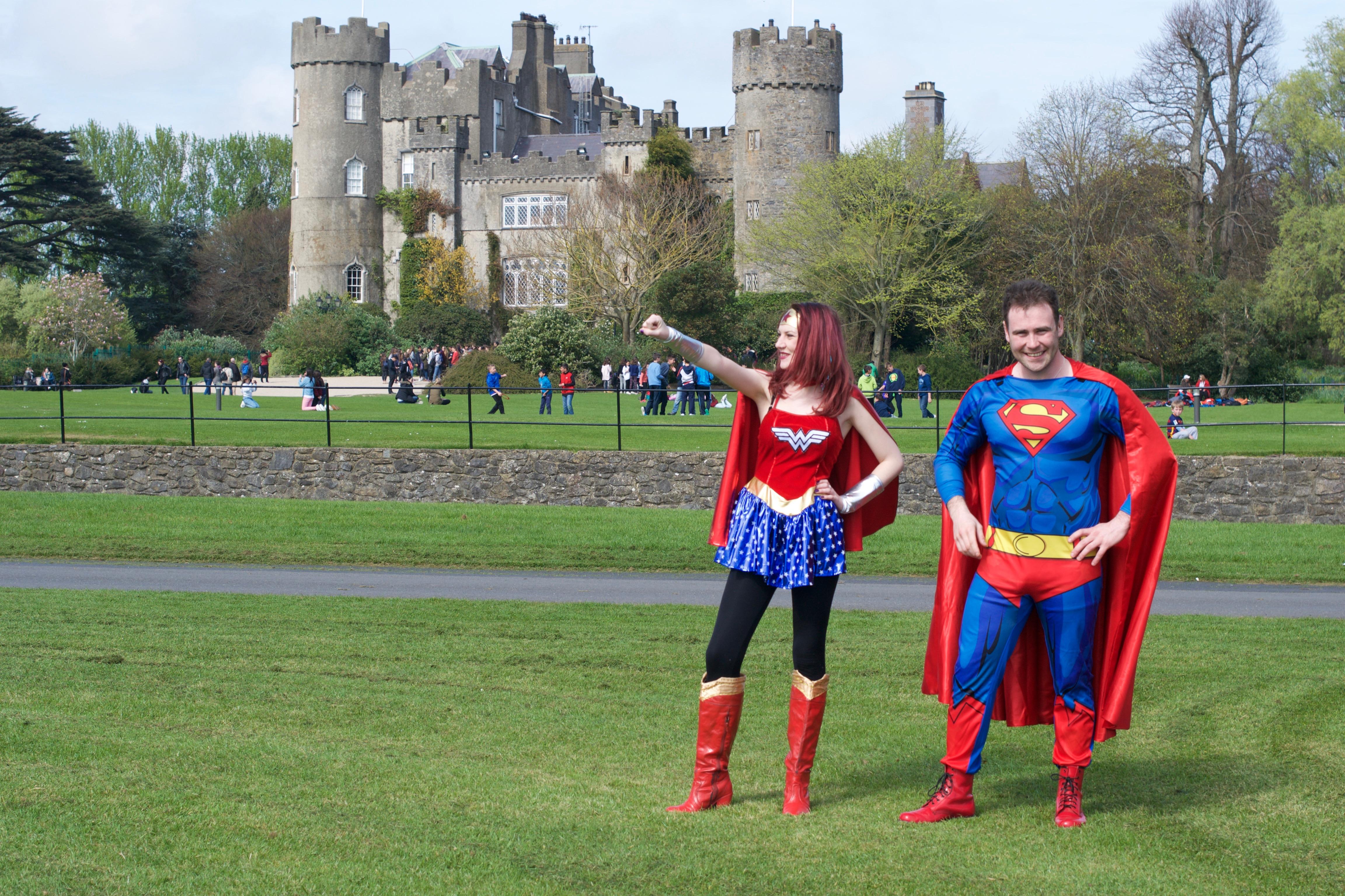 Superhero Kids Parties