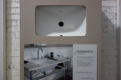 Undermount Sink Display