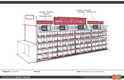 Ink Aisle Display Concept
