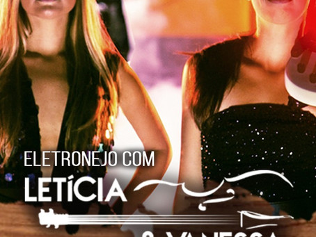 Hoje dia 10/01 tem show com Letícia e Vanessa no Mud Bug em Copacabana às 21h.