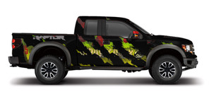 Jurassic Ford Raptor Wrap Design