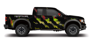 Jurassic Ford Raptor Wrap Design