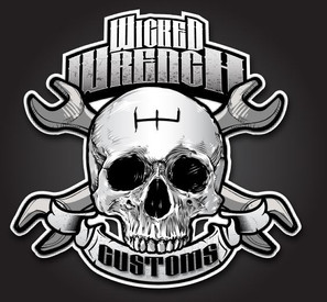 Wicked Wrench Customs Logo Design