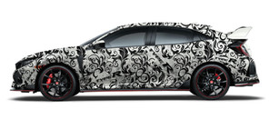 Honda Type R Full Wrap Design