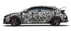 Honda Type R Full Wrap Design