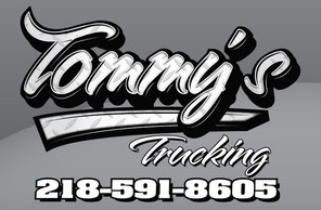 Tommy's Trucking logo Design