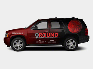 9 Round Boxing Wrap Design