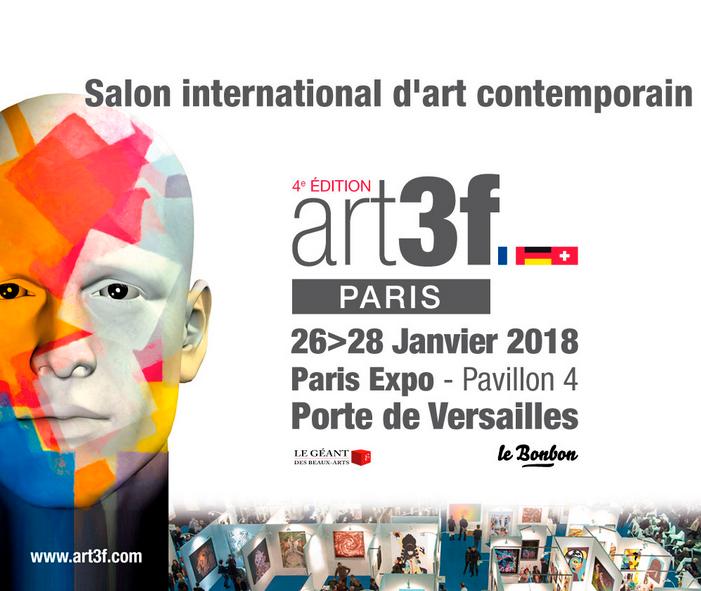 Mon Exposition au Salon d'Art Contemporain de la Porte de Versailles