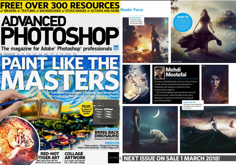 Page Entière dans le dernier Photoshop Creative !