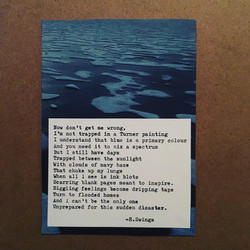 excerpt from 'Blue'