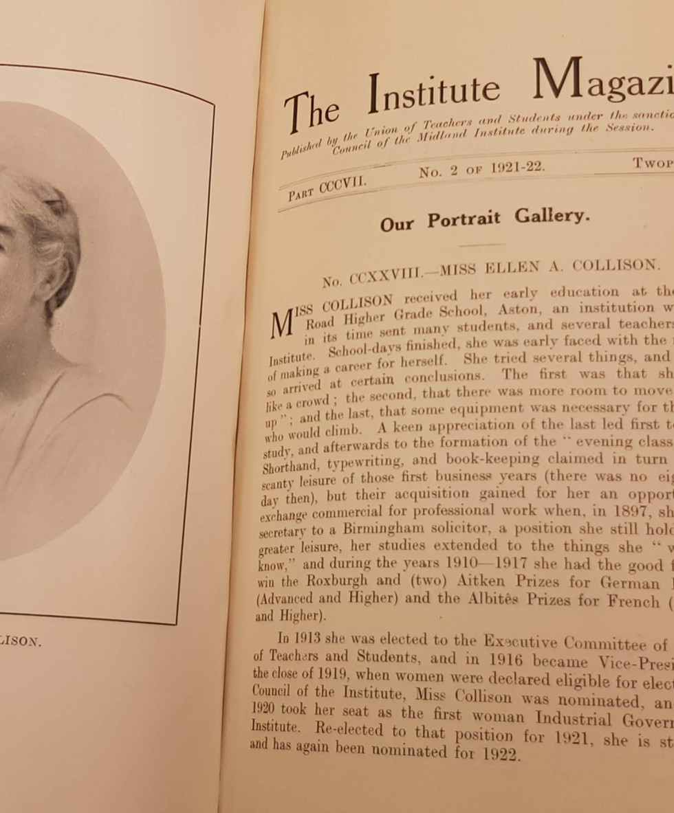 Original Institute Magazine
