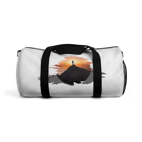 Kettlebell mountain Duffel Bag