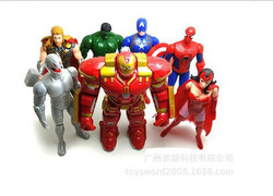 Free-shipping-The-Avengers-Captain-Iron-Man-America-Red-witch-Spiderman-font-b-Batman-b-font