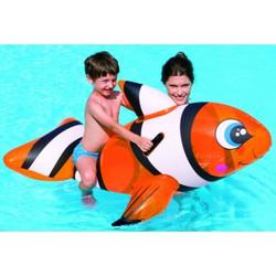 pesce-pagliaccio-cavalcabile-gioco-gonfiabile-mare-piscina
