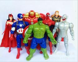 20set-lot-New-avengers-superhero-model15-cm-font-b-toys-b-font-font-b-hulk-b