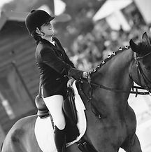 this is the picture of the horse riding president