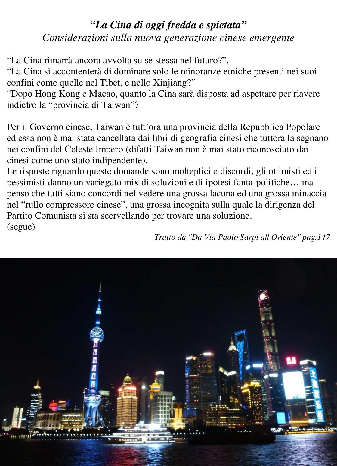 14 Poster La Cina di oggi fredda e spiet