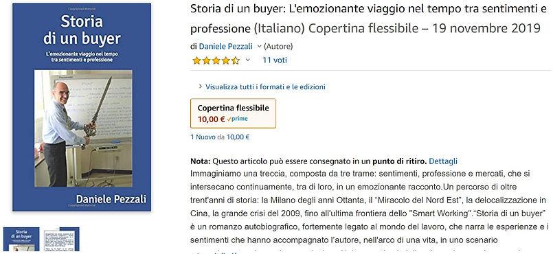 Amazon Storia di un buyer cartaceo compl