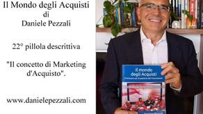 """22° Il concetto di Marketing d'Acquisto. Da """"Il mondo degli Acquisti"""""""