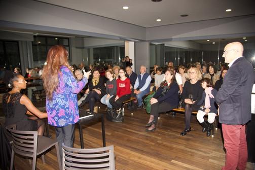 Presentazione al MOOOV360 di Milano con Christine Grimaldi e Britta Oling 2