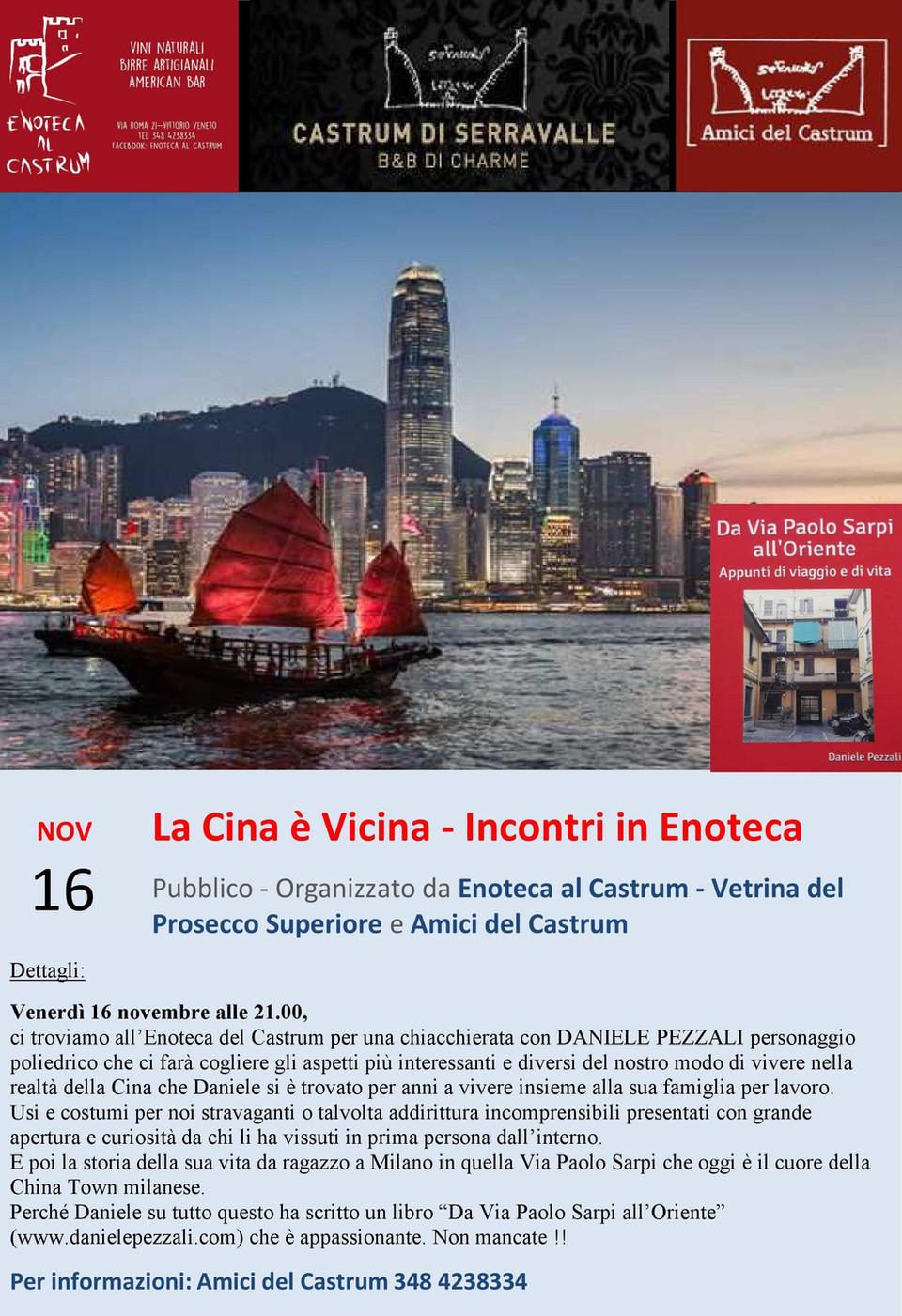 Evento locandina Castrum Vittorio Veneto