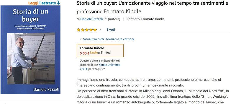 Amazon Storia di un buyer e-book complet