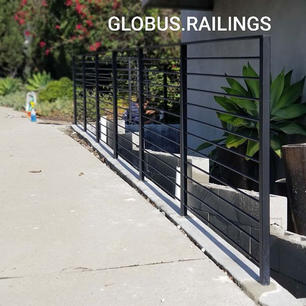 GLOBUS RAILINGS  Fully galvanized steel