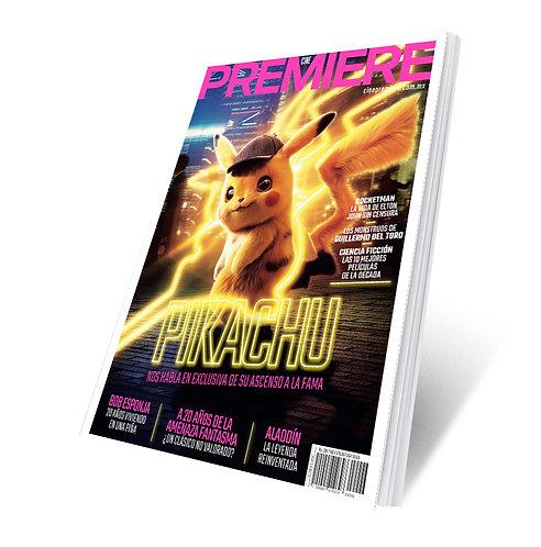 Revista Cine PREMIERE edición Mayo 2019 Portada Variante Pikachu