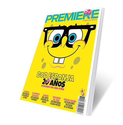 Revista Cine PREMIERE edición Mayo 2019 Portada Variante Bob Esponja 1