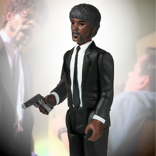 "Jules Winnfield Pulp Fiction 3.75"" ReAction Funko"