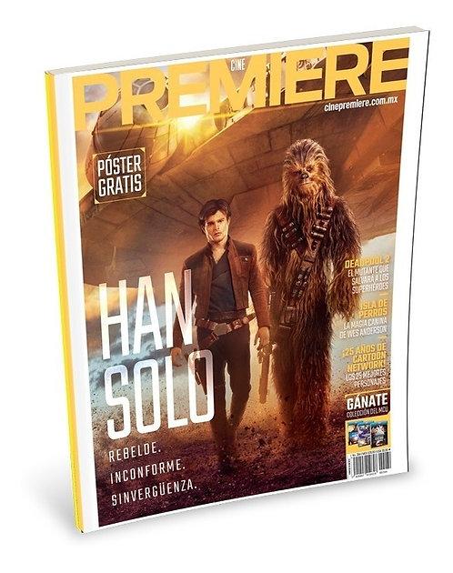 Cine PREMIERE Mayo 2018 - Han Solo